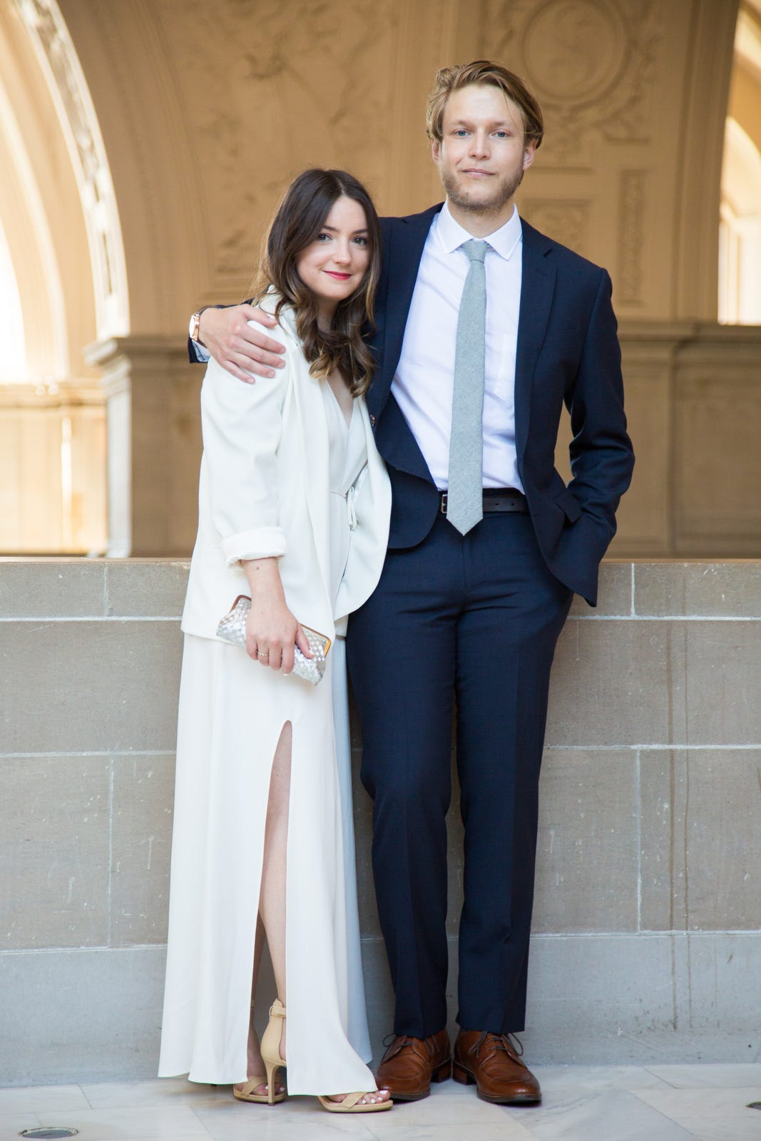 cute san francisco city hall wedding pictures