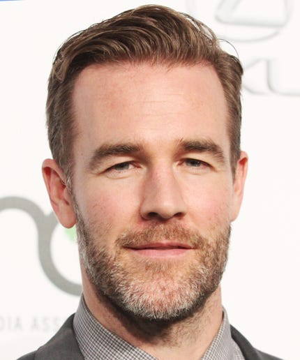 james van der beek wife