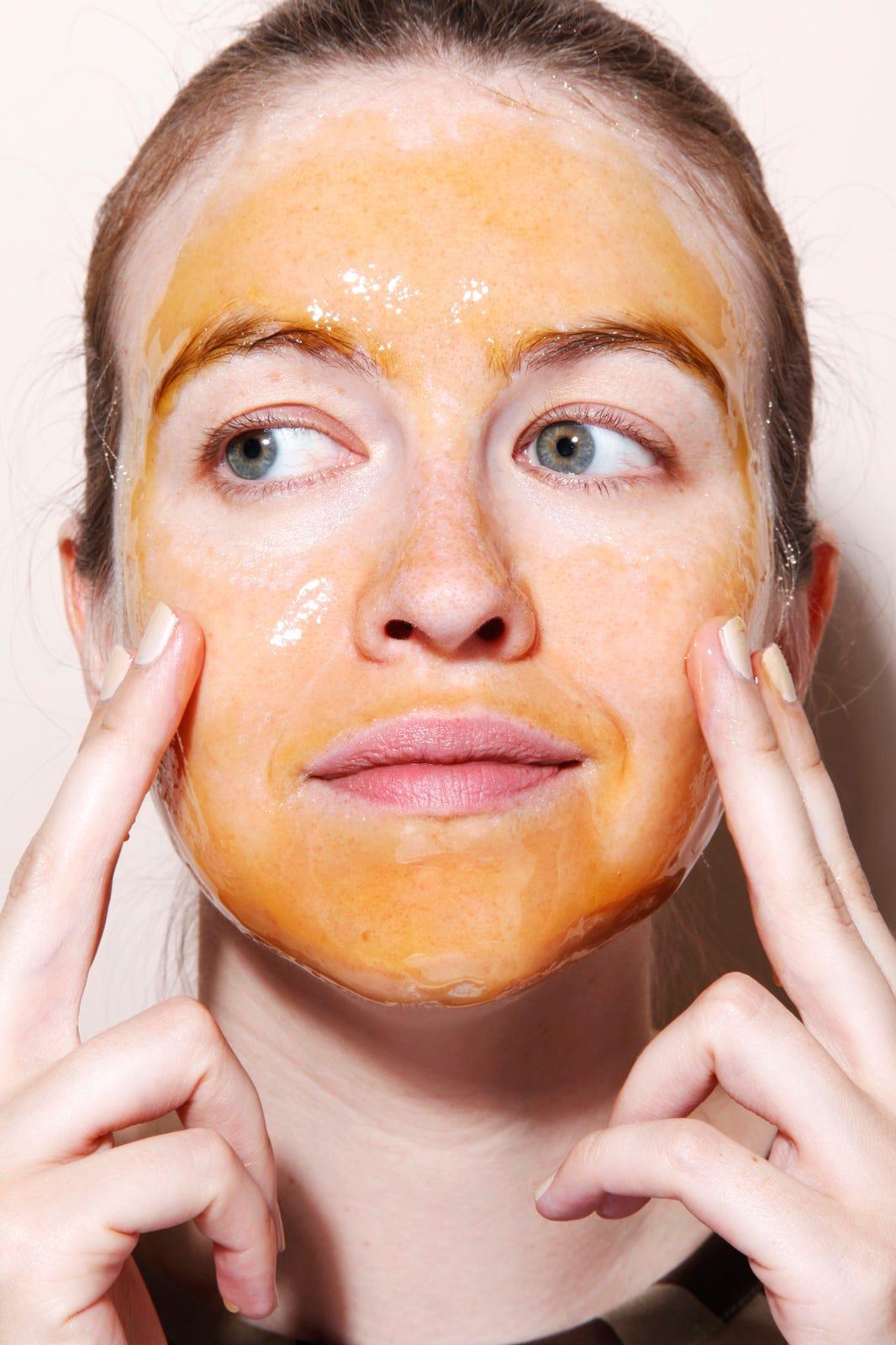 Kết quả hình ảnh cho honey on face