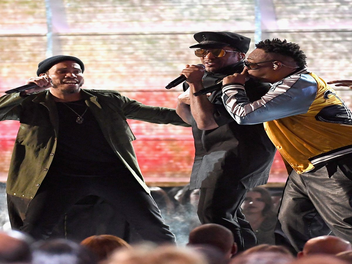Anderson Paak & A Tribe Called Quest Went In On Trump In Their Grammy Performance