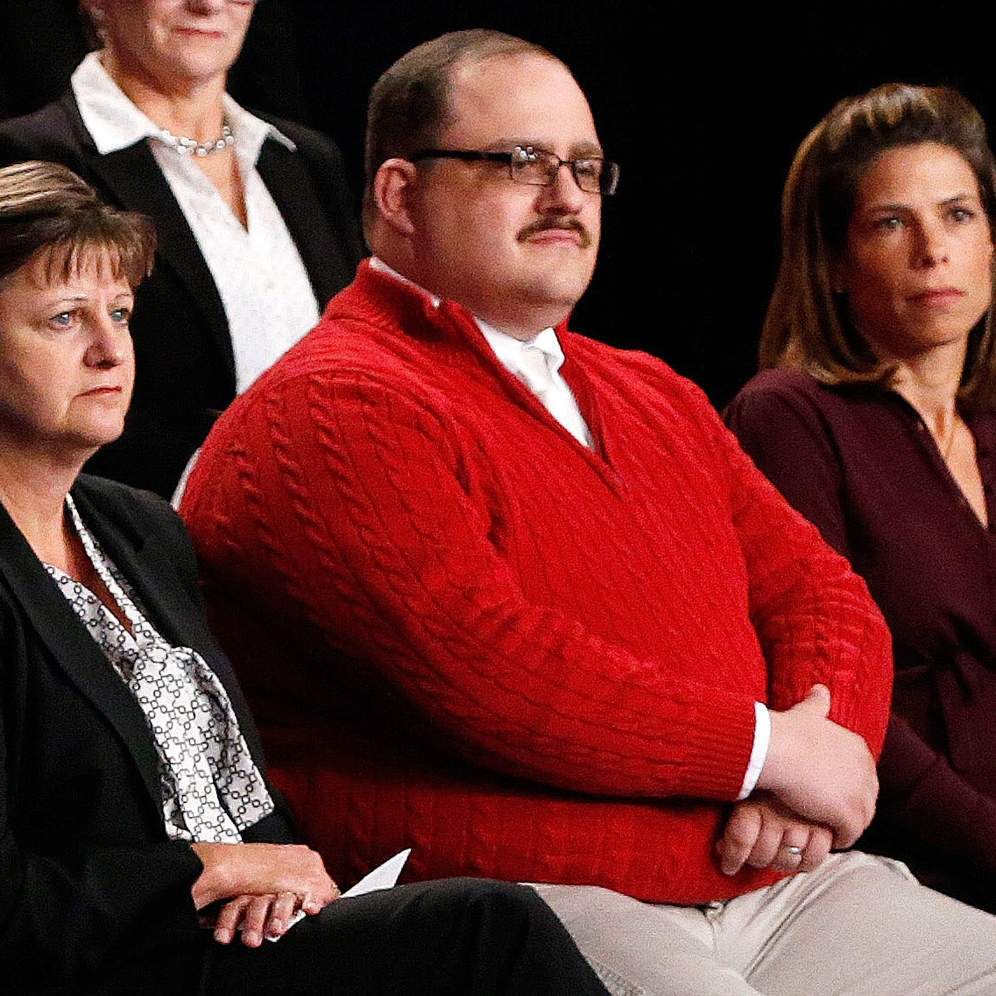 Ken Bone Red Sweater Sell Out