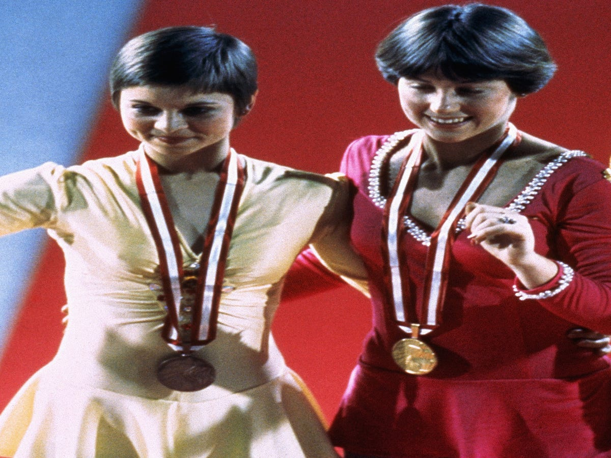 Check Out These 12 Amazing Vintage Olympics Looks