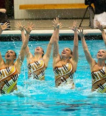 synchronized-swimming