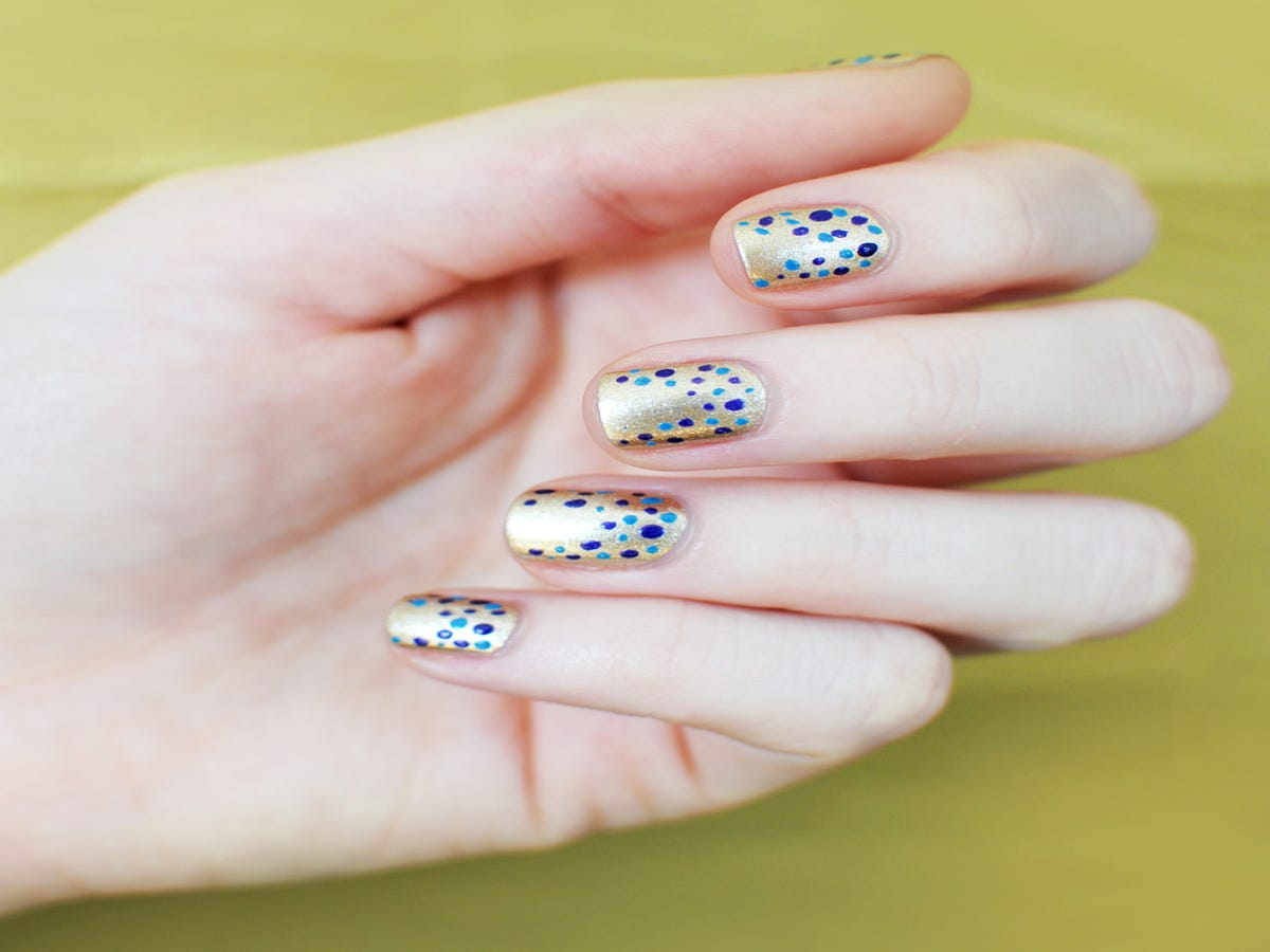 This Dotted Nail Trend Is Gorgeous — & SO Easy To Copy