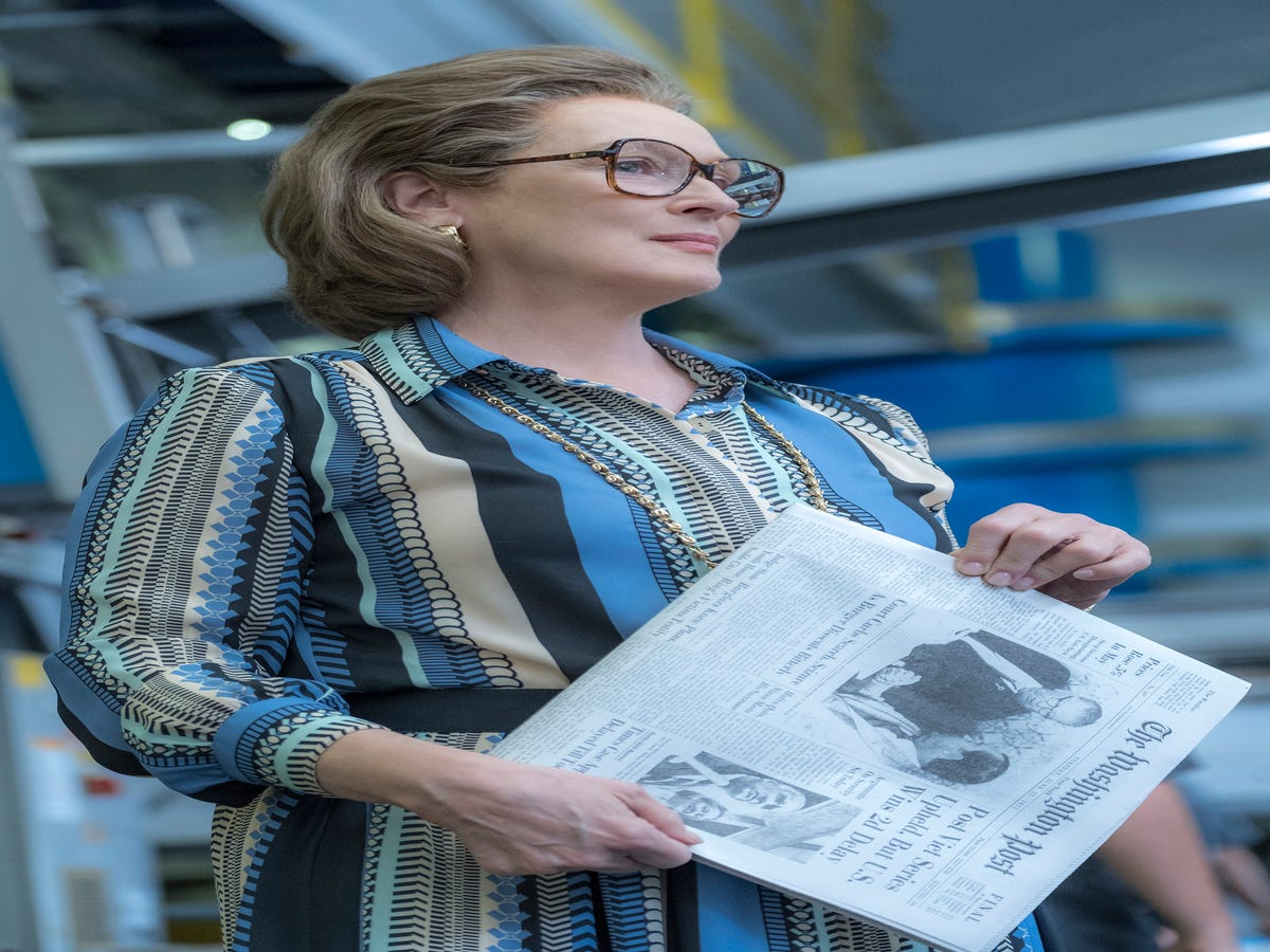 Meryl Streep In The Post Is A Reminder For Our President About Freedom Of The Press