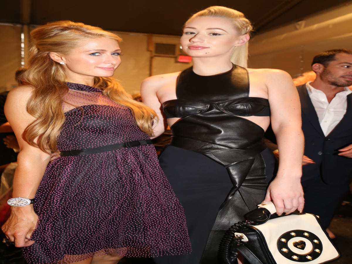 Iggy Azalea Has Some Intel About Paris Hilton's Home