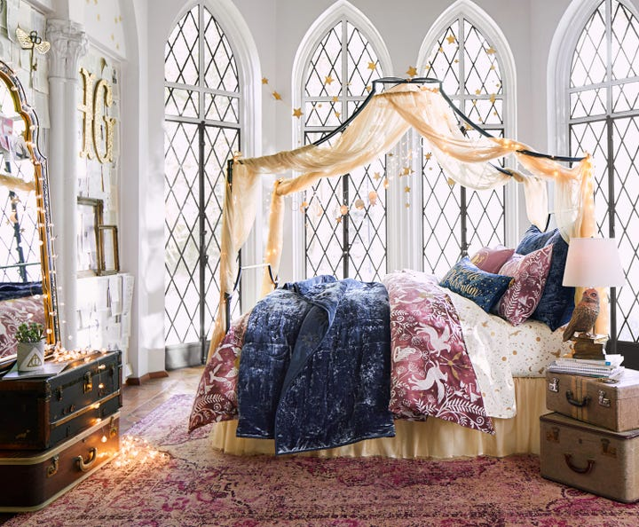 Harry Potter PBTeen Home Furnishings Decor Collection - Harry potter bedroom designs