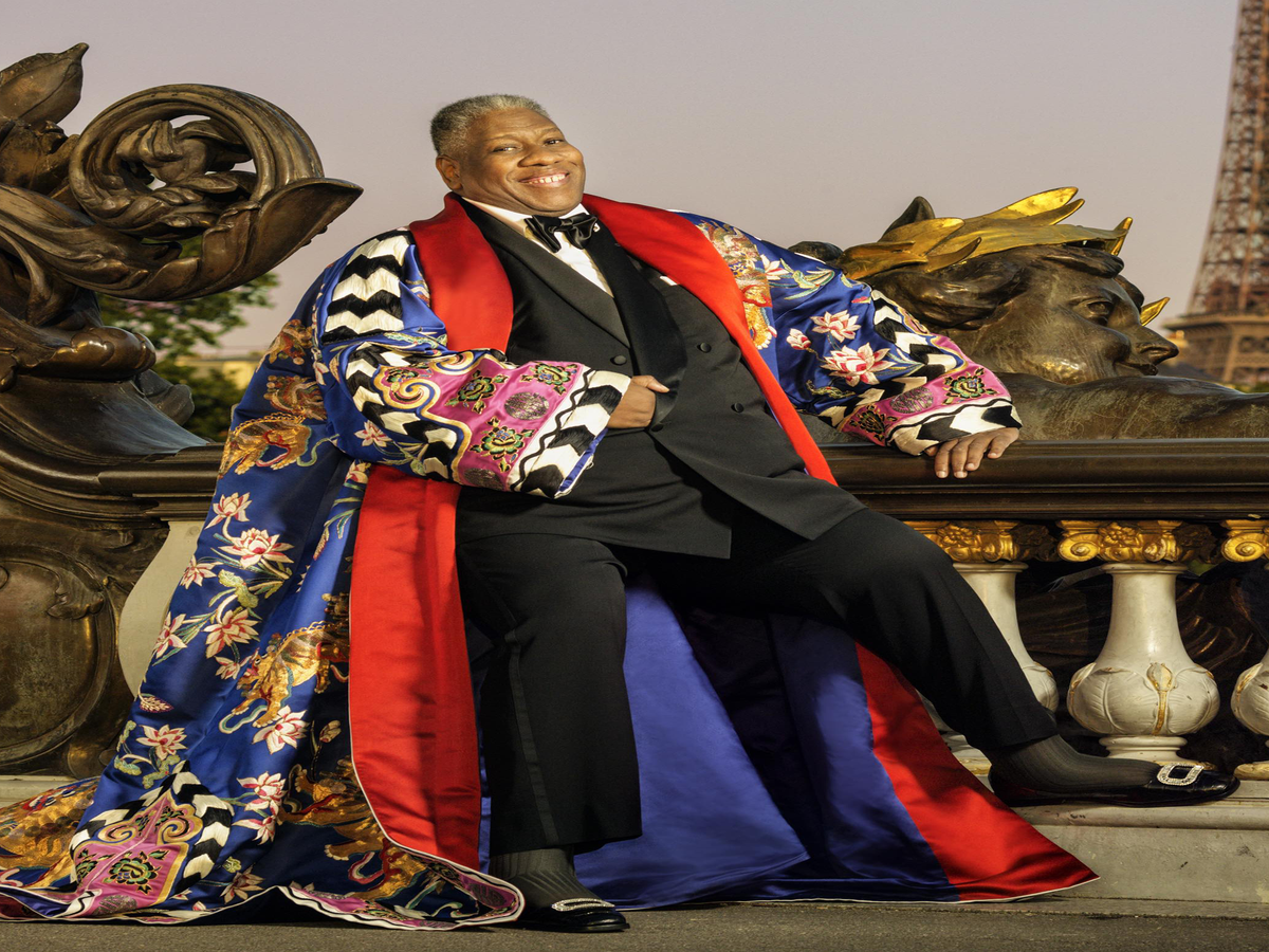 André Leon Talley:  I Don't Think Of Anything As A Challenge In The Industry