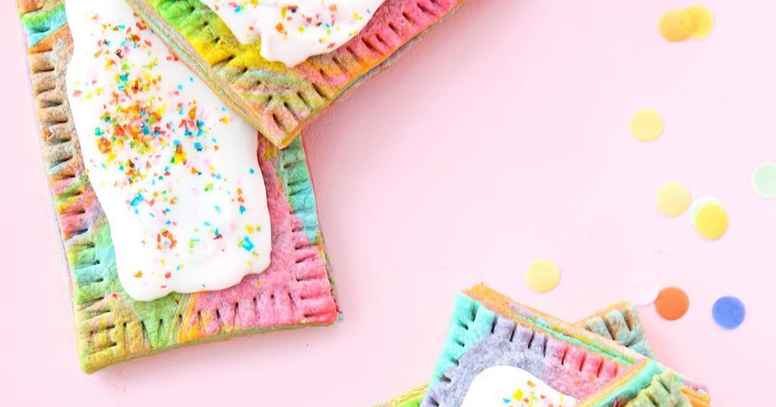 rainbow food trend magical unicorn foods