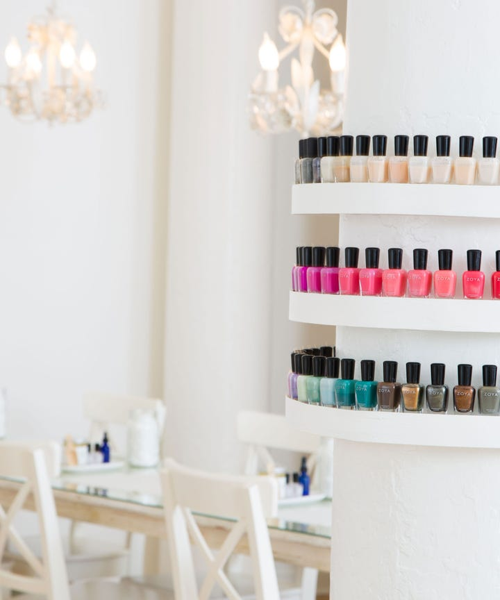 Best nail salons nyc manicure pedicure new york we dont mean to brag but new york city is the birthplace of a very important institution the nail salon back in 1878 one particularly entrepreneurial prinsesfo Images
