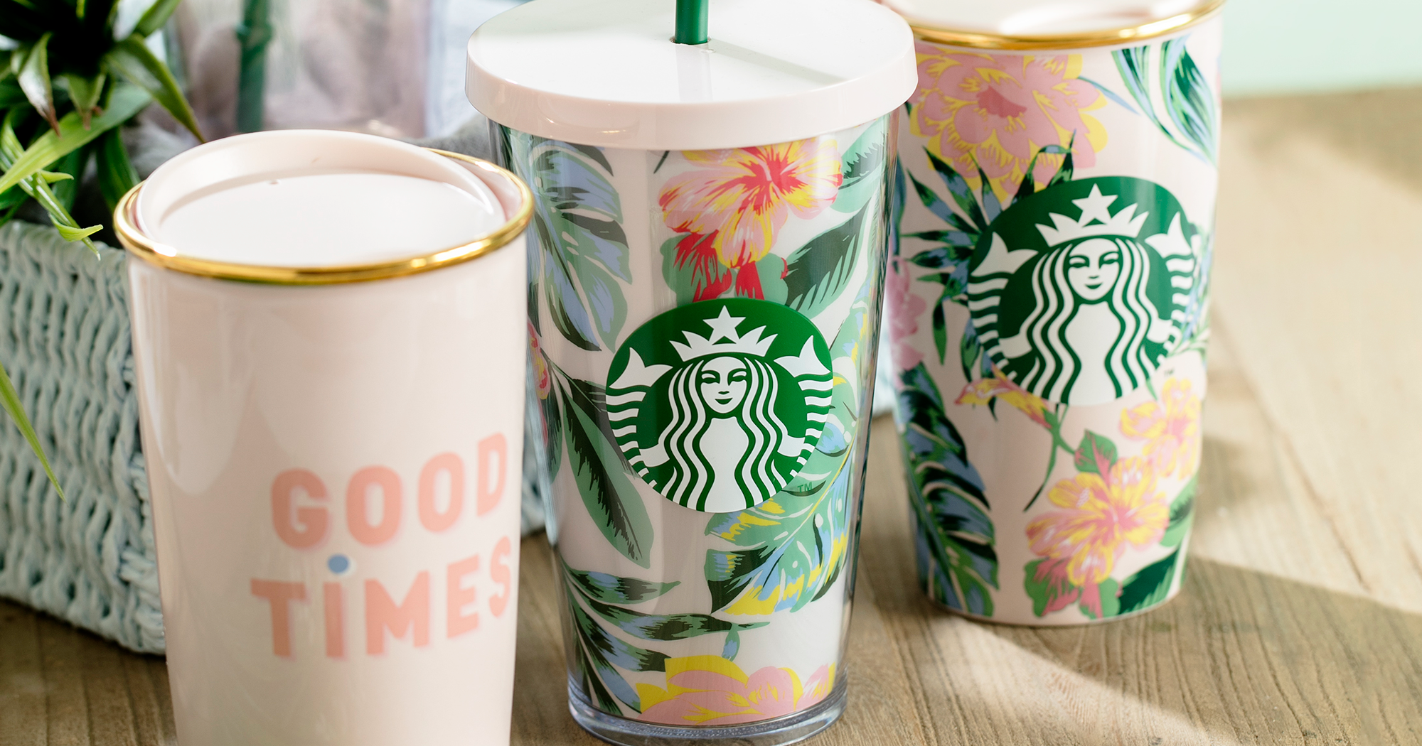 Starbucks Bando Collection Summer Drink Accessories