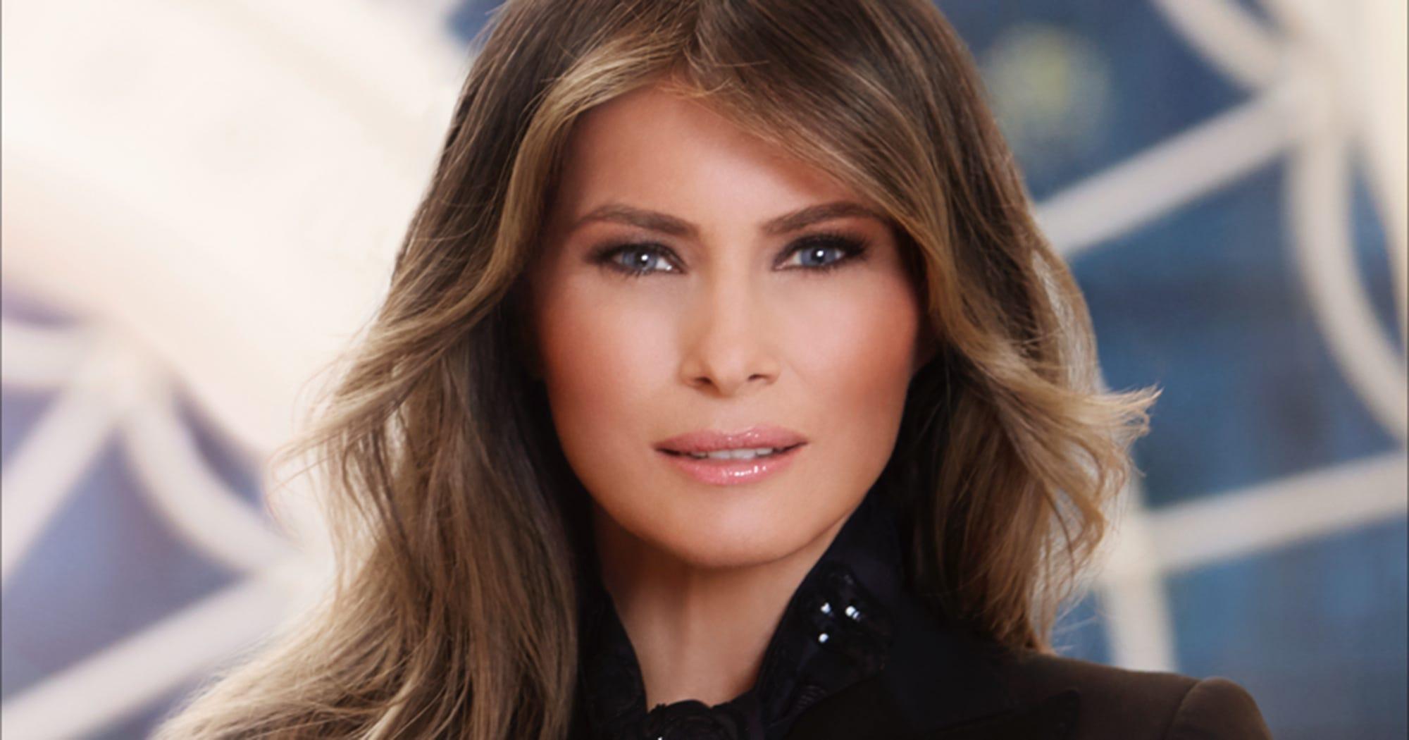 Melania Trump Diamond Ring Portrait Twitter Reactions