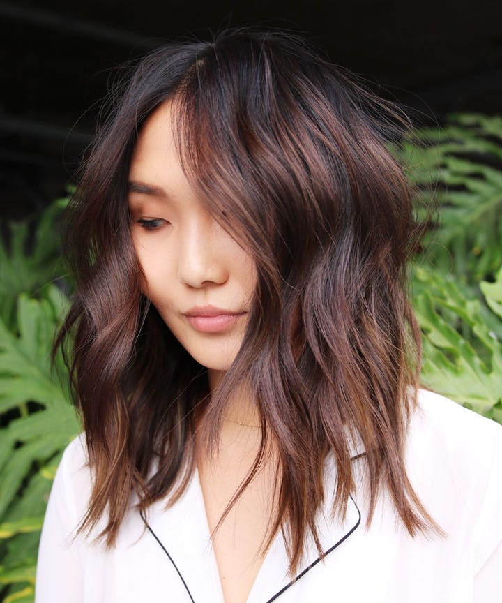 Hair Color Ideas Winter Hair Trends - Green trends change of hairstyle