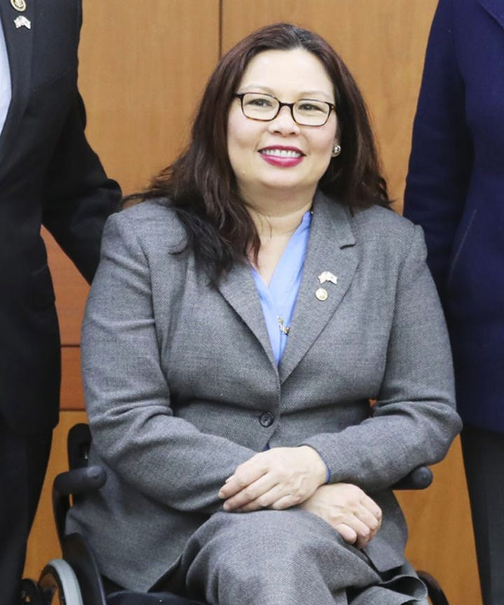Half-Thai US Senator Becomes First to Give Birth in Office