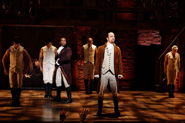 Lin-Manuel Miranda takes final bow as 'Hamilton'