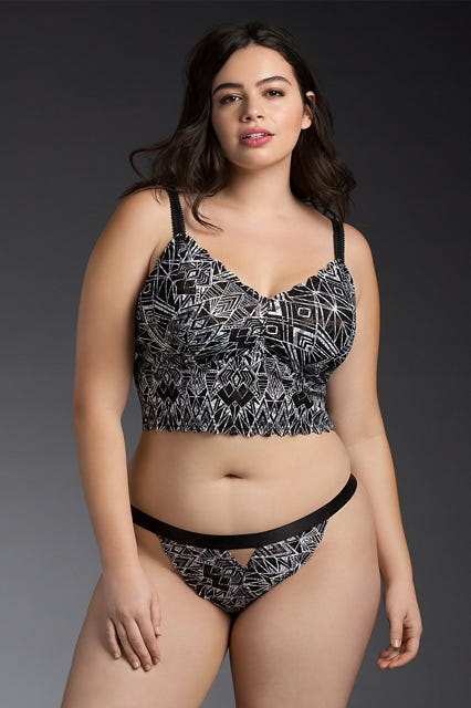 plus size lingerie - best bras bodysuits nighties