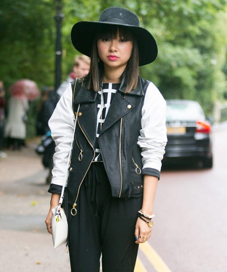 The Chicest Black And White Ensembles We Spied On The Streets