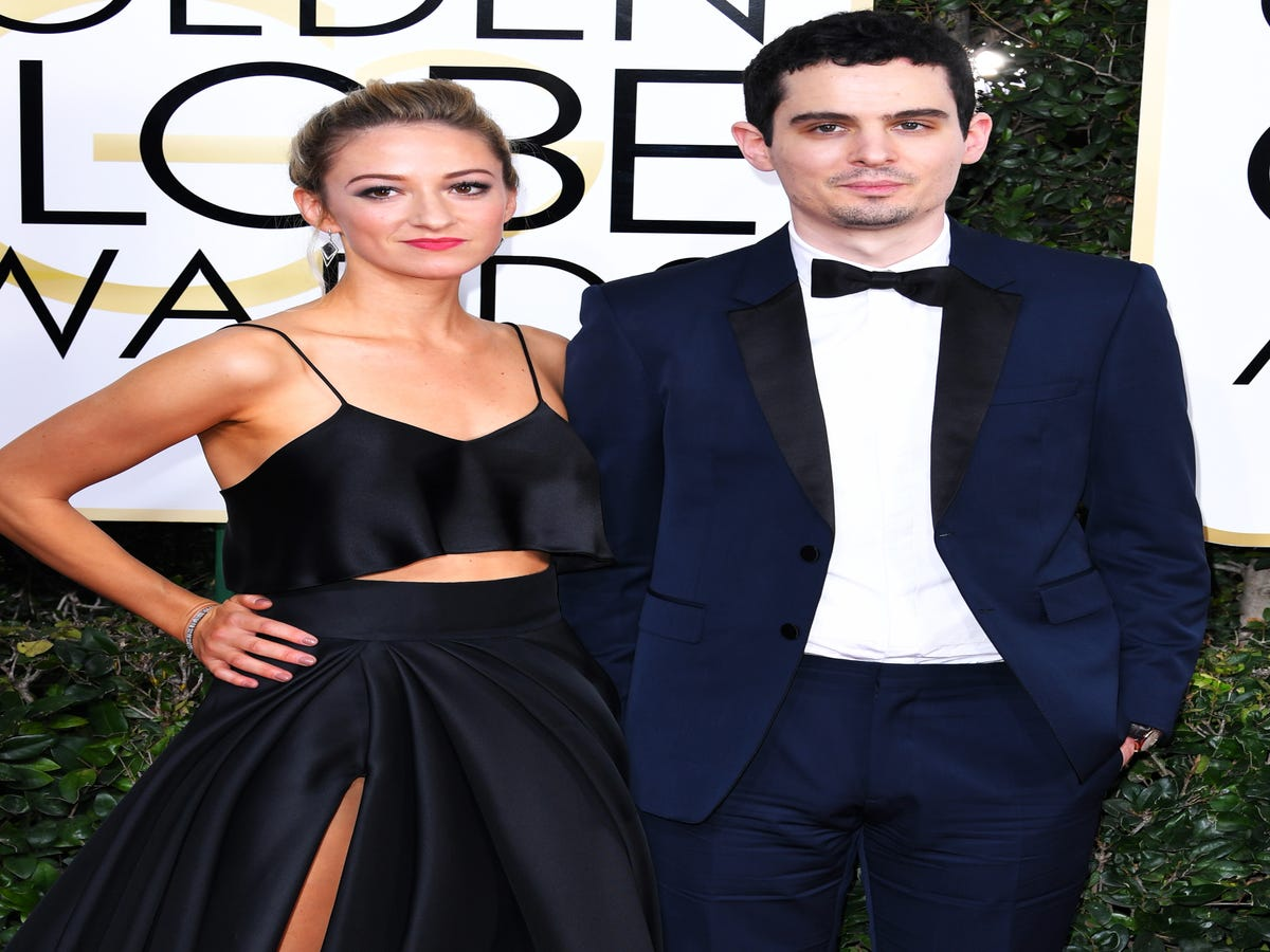 Damien Chazelle Sat At The Golden Globes With Both His Girlfriend & His Ex-Wife