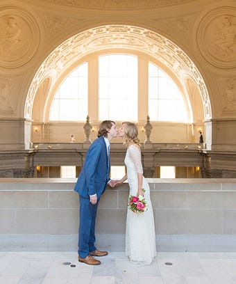12 City Hall Weddings That Will Make You Believe In True Love