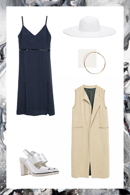 light neutral toned accents are your best friend when it comes to daytime weddings try a waistcoat to dress down your look but keep it polished