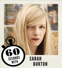 Sarah Burton Interview