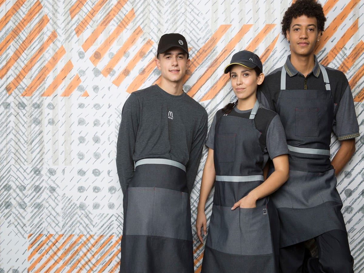 McDonald's Employees Have New Uniforms & They're Not Lovin' It