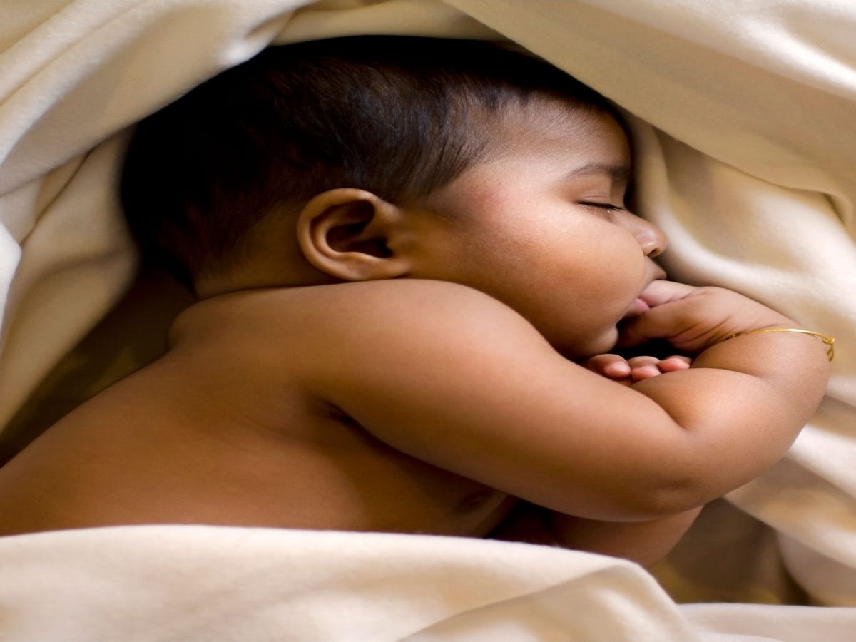 This Is Why Babies Are Able To Sleep Through Everything