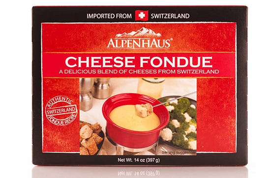 A Good Swiss Fondue Requires More Than One Type Of Cheese This Blend Spares You The Headache Of Mixing And Matching