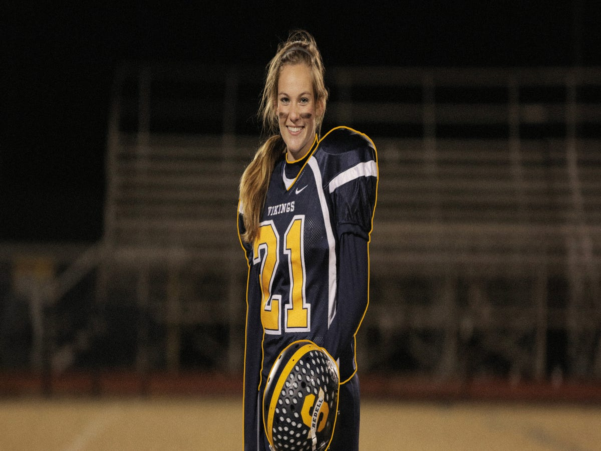 The Girl On The Team: How Julia Knapp Is Changing High School Football As We Know It
