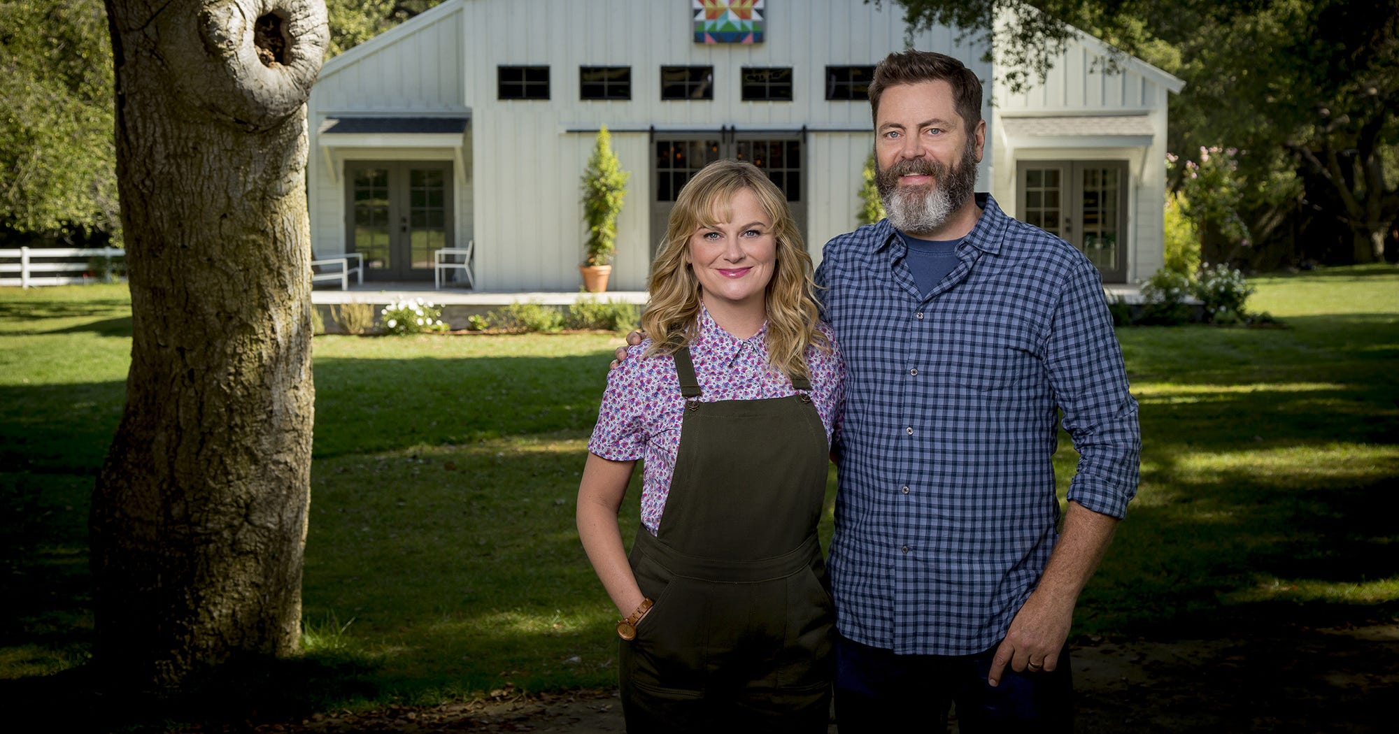 Exclusive: Meet The Judges For Amy Poehler & Nick Offerman's Brand-New Show