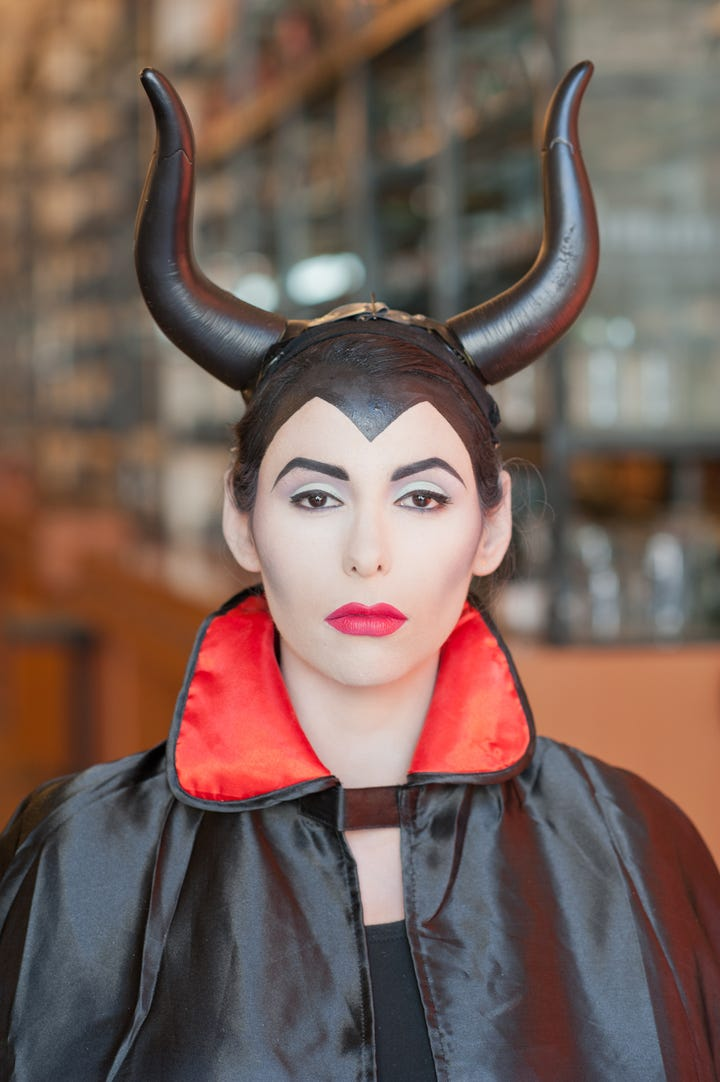 Maleficent Costume and Makeup Tutorial
