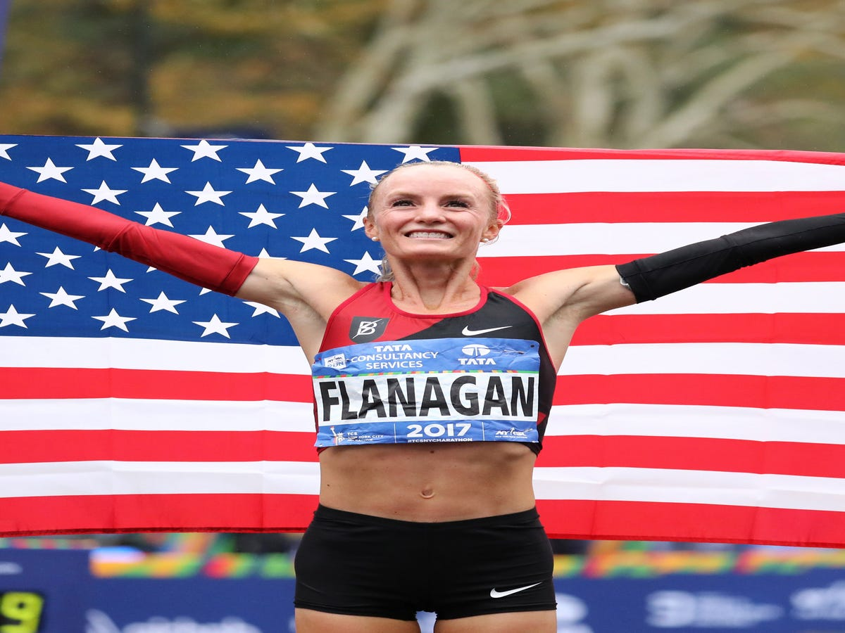 Shalane Flanagan Is The First American Woman In 40 Years To Win The New York Marathon