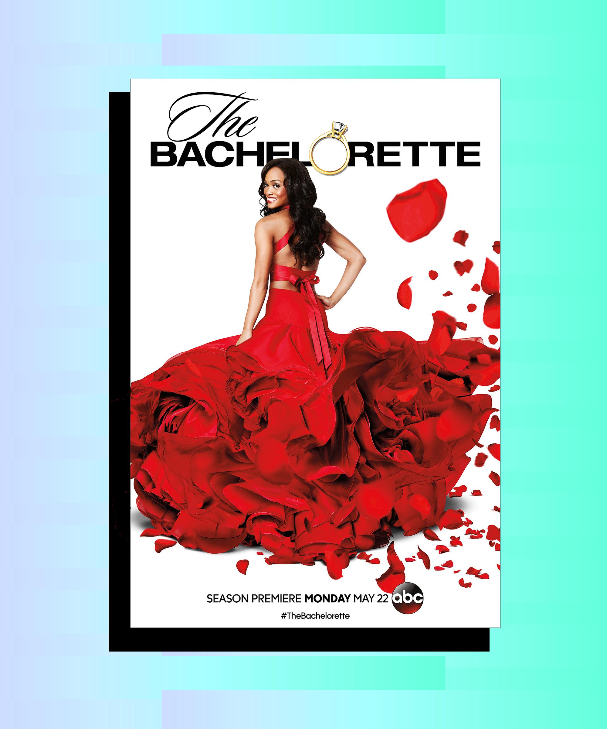 Rachel Lindsay Is Dressed Like a Rose for 'Bachelorette' Poster!