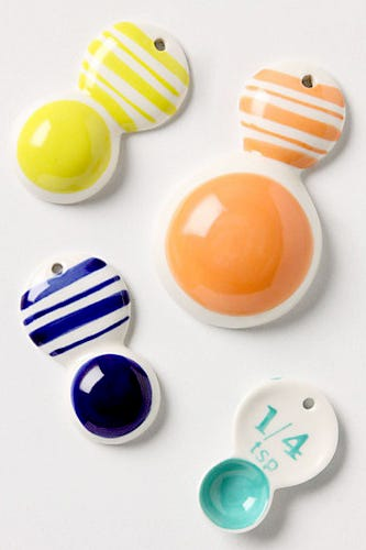 Anthropologie Color Tab Measuring Spoons 14 Available At