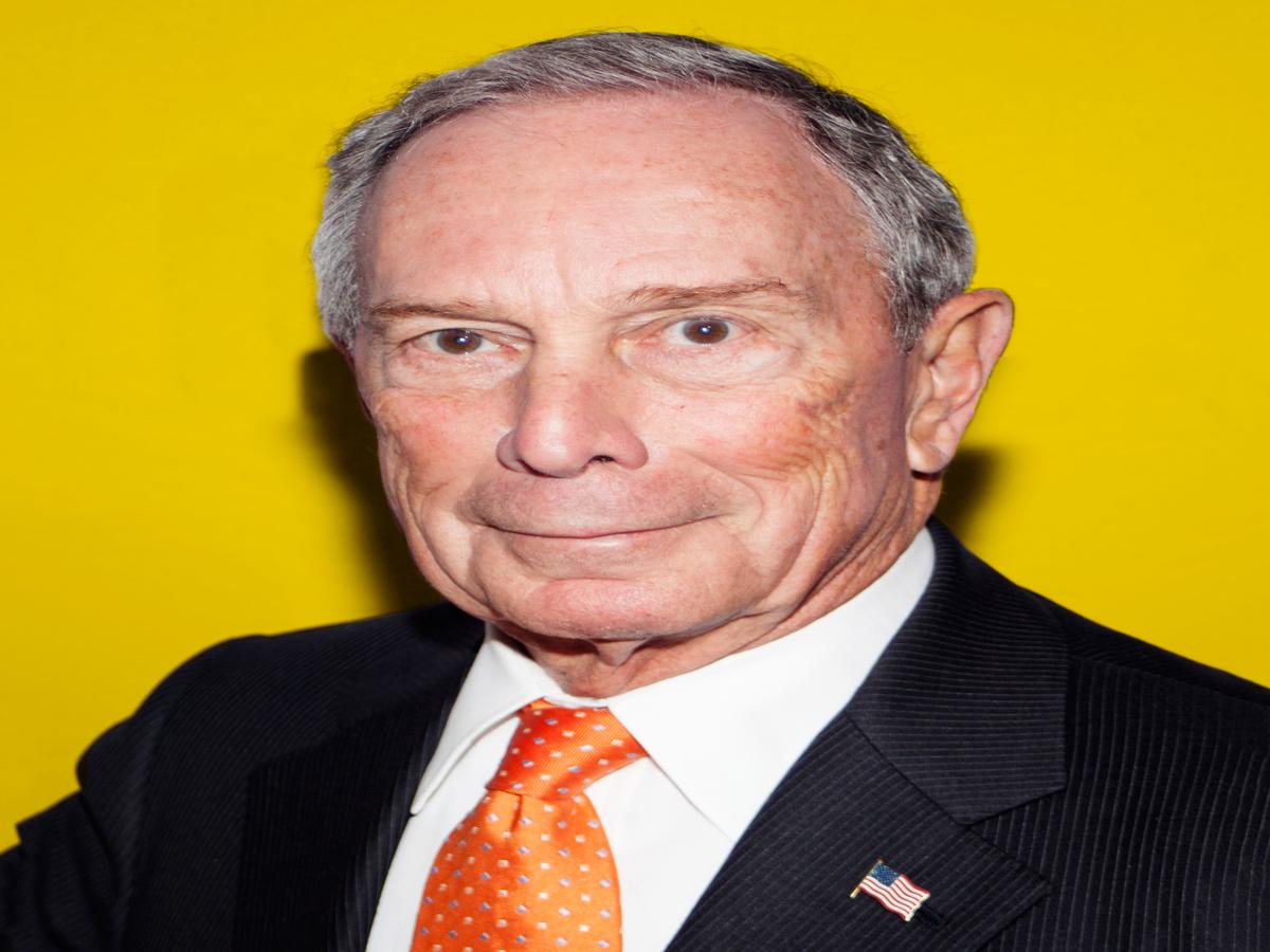 Micheal Bloomberg Endorses Hillary Clinton