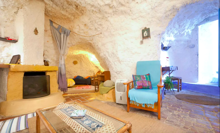 Living In A Cave Has Never Looked This Good Unique Cueva Spanish For Caves Is Breezy The Summer And Cozy Winter