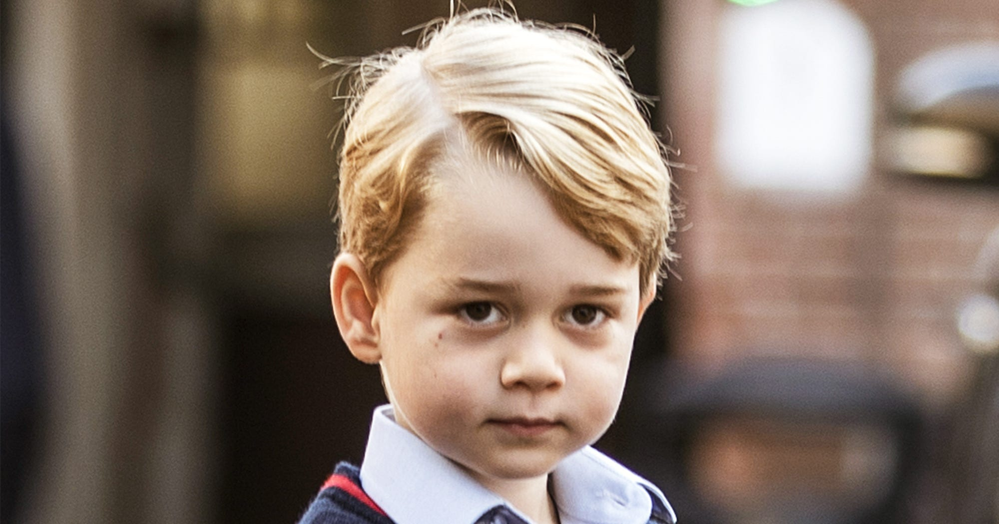 Of Course Prince George Eats Lunch Like A King
