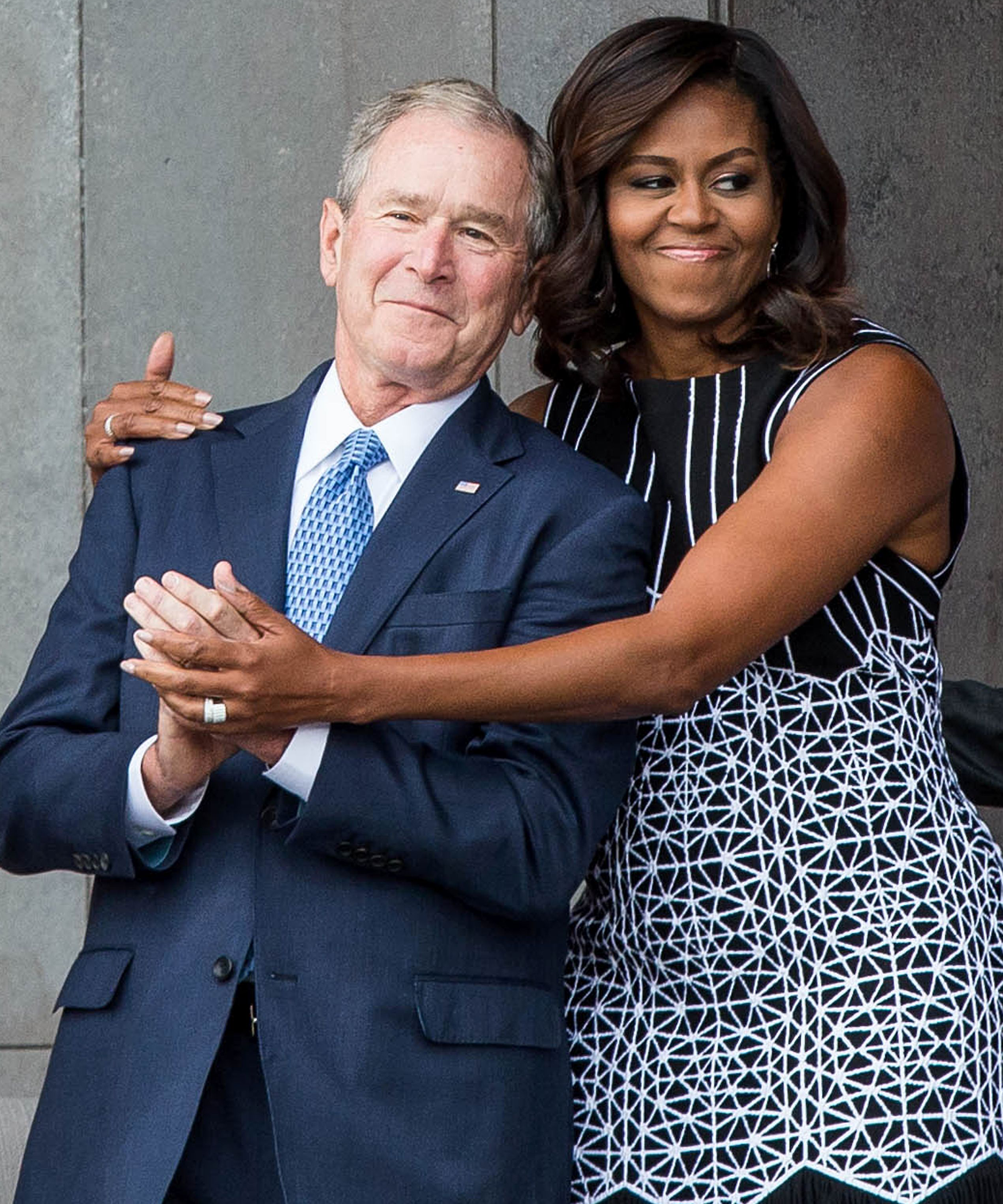 George W. Bush Really Wants You to Like Him Now