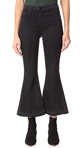 Non-Stretchy Denim - High-Waisted Jeans