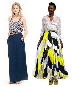 How To Wear A Maxi Skirt - Summer Long Skirts