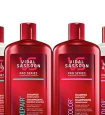Vidal Sassoon Pro Series Product Range