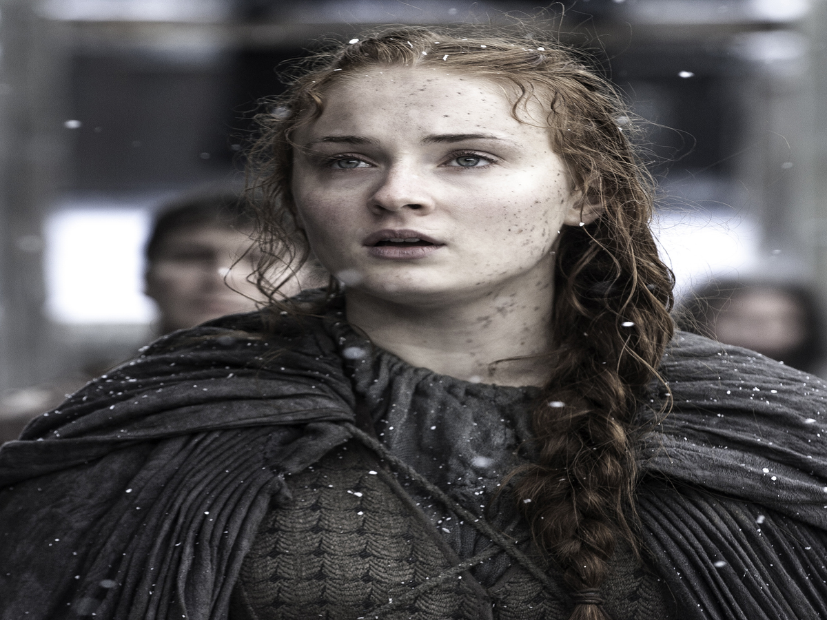 Sophie Turner Says Playing Sansa Stark Is Her  Version Of Rebellion