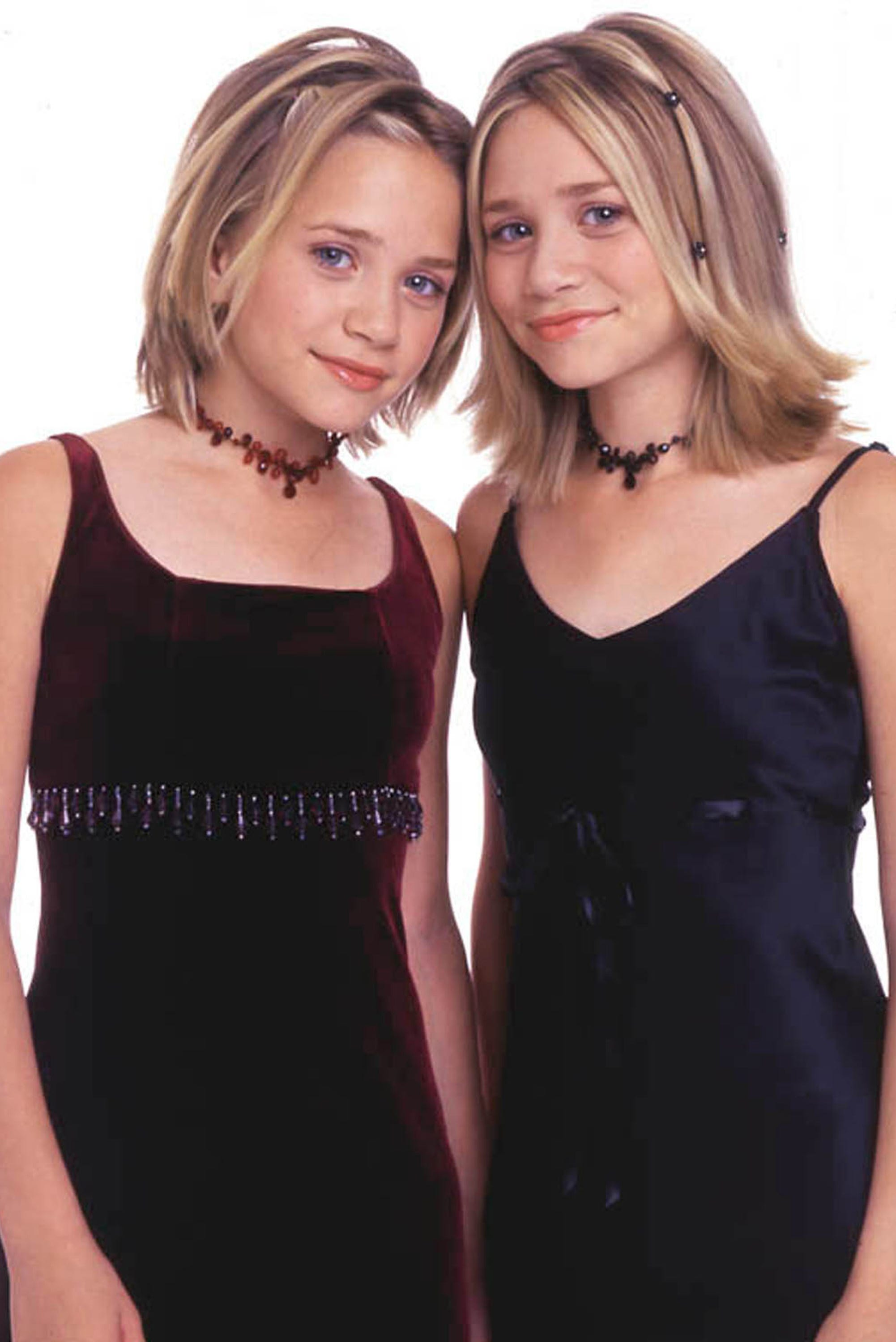 olson twins young