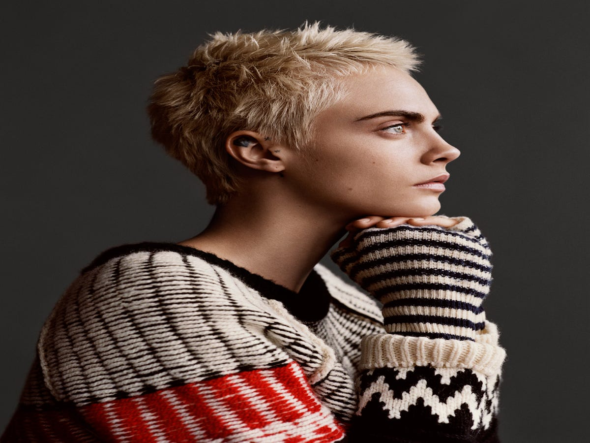 Cara Delevingne On Style, Womanhood, & Her 2018 Goals
