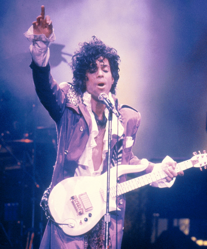 The Prince Estate And Lancome Create Custom 'Purple' Color, Love Symbol #2