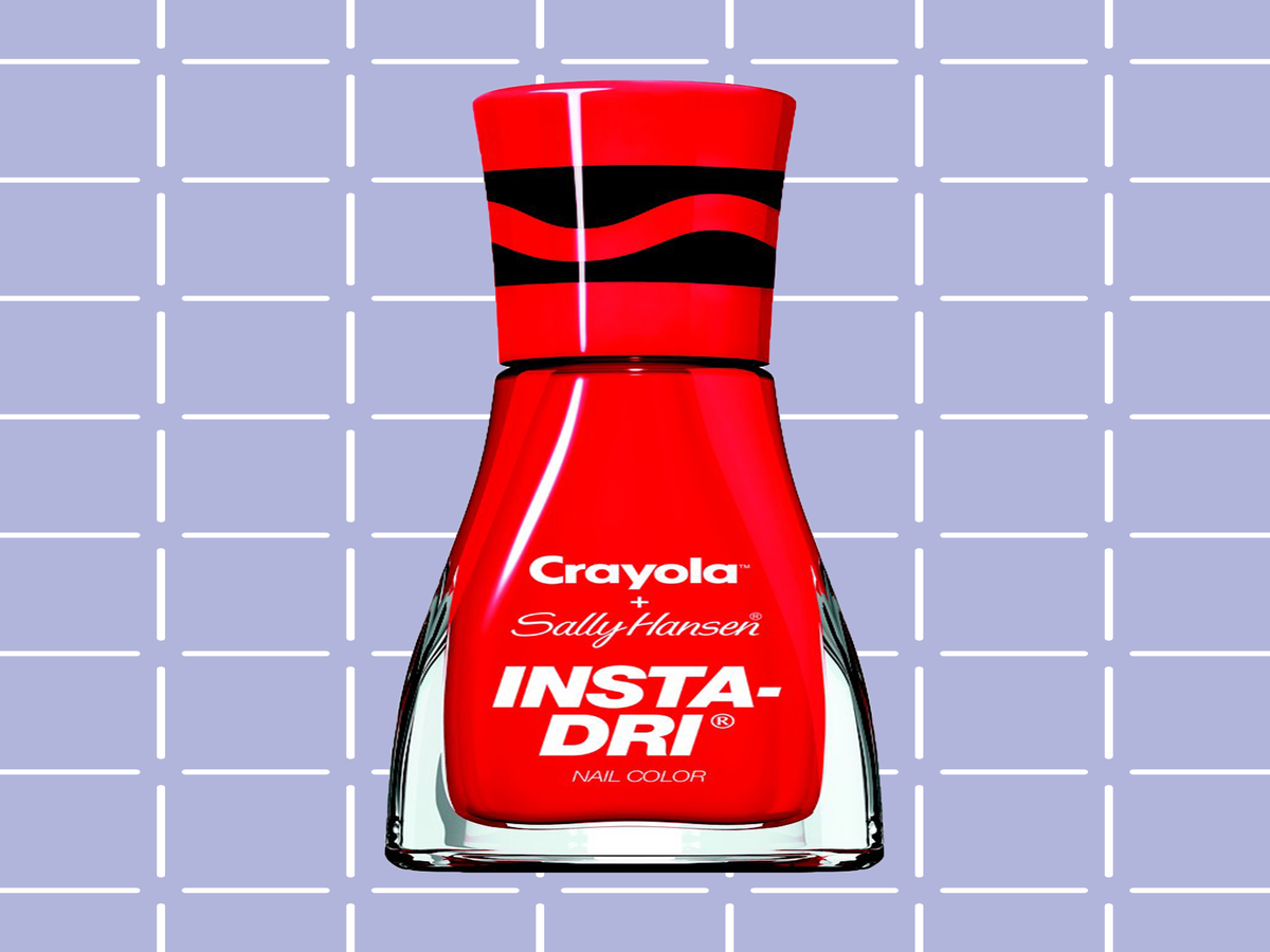 These Crayola Nail Polishes Are The Throwback We've Been Waiting For