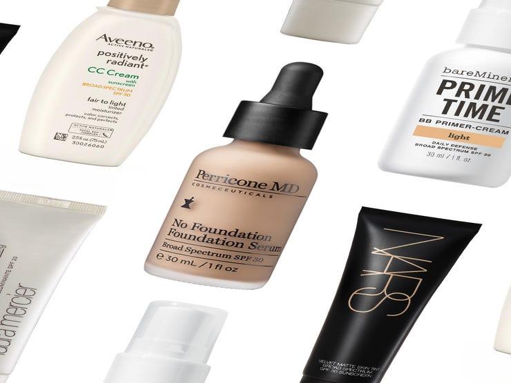 12  Non-Foundations  For No-Makeup Makeup