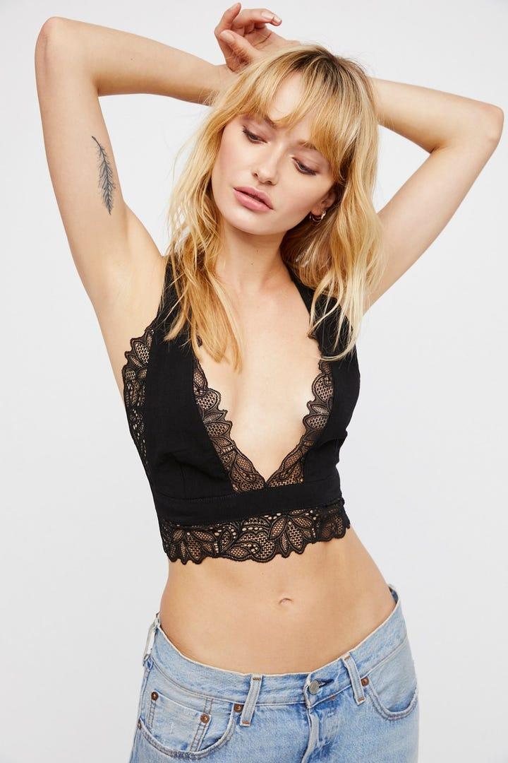 Sexy Lace Plunge Bras, Best Push Up Bra & Bandeau Bra- NewChic