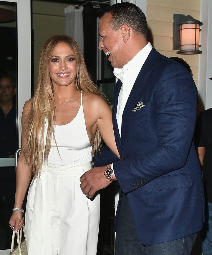 Jennifer Lopez Alex Rodriguez Celebrate Joint Birthdays