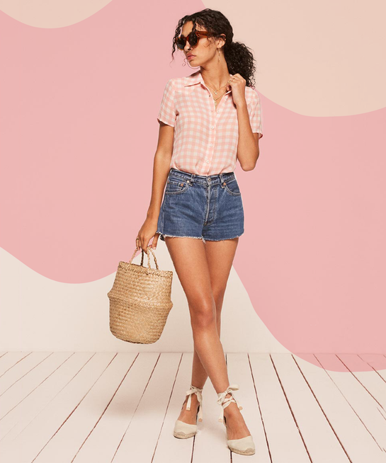 Gingham Shirt Fashion Trend How To Style Gingham